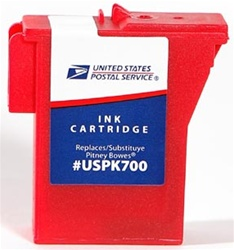 Pitney Bowes Compatible 797M Red Ink Cartridge