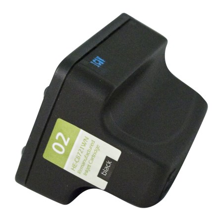 HP #02 (C8721WN) Black Ink Cartridge