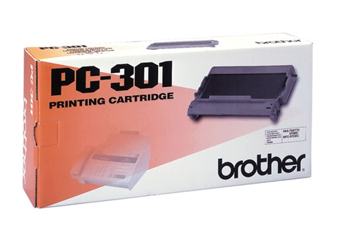 Brother PC301 Thermal Transfer Fax Print Cartridge (Genuine)