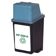 HP Remanufactured HP C6614 (No. 20) black ink cartridge (3 pieces)