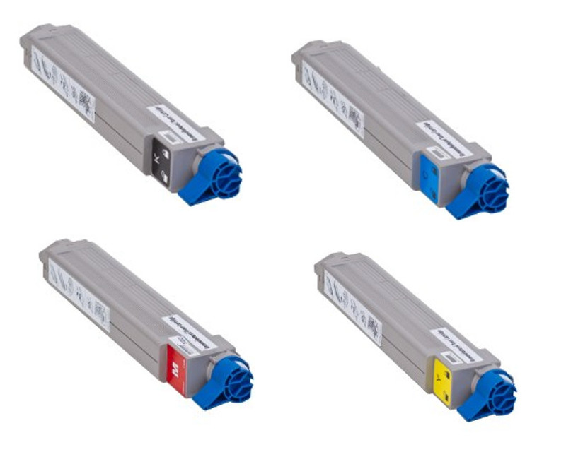 Xante Compatible Part# 200-100222, 200-10023, 200-100224, 200-100225 Toner Cartridge Set