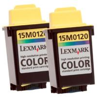 Lexmark 15M1375 / 15M0120 Color InkJet Cartridges
