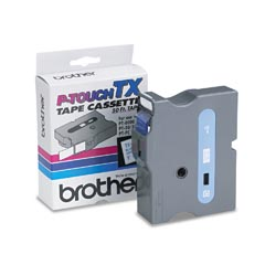 Brother TX2531 Tape Cartridge 1 Blue/White
