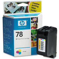 HP C6578D (HP 78) Tri-Color Inkjet Cartridges