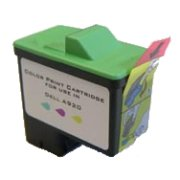 Dell 3104143 professionally remanufactured color inkjet cartridg