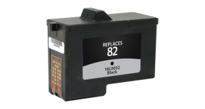Dell 7Y743 (Series 2), Lexmark 18L0032 (#82) Black Ink Cartridge remanufactured
