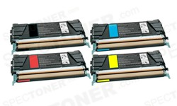 Lexmark C5222KS C5222CS C5222MS C5222YS Toner Cartridge Set