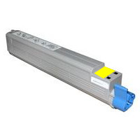Okidata 52124001 Yellow Remanufactured Laser Toner Cartridge