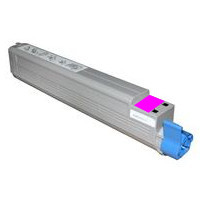 Okidata 52124002 Remanufactured Magenta Toner Cartridge
