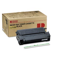 Ricoh 430222 Type 1135 Black Laser Toner Cartridge