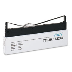 Tally 044829 Black Nylon Printer Compatible Ribbon 6-PK